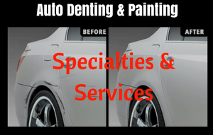Auto Denting and Painting Specialities & Services